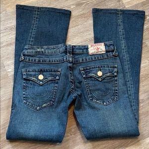 True religion size 29 Joey jeans
